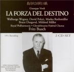 VERDI - Busch - La forza del destino, opéra en quatre actes (version 186 live Edinburgh, 20 - 8 - 1951