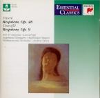 FAURE - Davis - Requiem pour voix, orgue et orchestre en ré mineur op.48