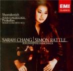 CHOSTAKOVITCH - Chang - Concerto pour violon et orchestre n°1 en la mine