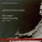 SCHUBERT - Schnabel - Quatre impromptus, pour piano op.90 D.899