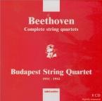 BEETHOVEN - Budapest String - Quatuor à cordes n°1 op.18-1