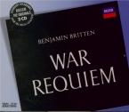 BRITTEN - Britten - War requiem, pour solistes, ensemble de chambre, chœ
