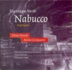 VERDI - Vernizzi - Nabucco, opéra en quatre actes
