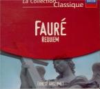 FAURE - Ansermet - Requiem pour voix, orgue et orchestre en ré mineur op