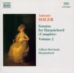 Sonatas for Harpsichord Vol.2