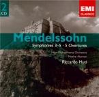 MENDELSSOHN-BARTHOLDY - Muti - Symphonie n°3 en la mineur op.56 'Schotti