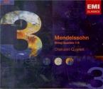 MENDELSSOHN-BARTHOLDY - Cherubini Quart - Quatuor à cordes n°1 en mi bém