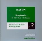 HAYDN - Szell - Symphonie n°104 en si bémol majeur Hob.I:104 'London'