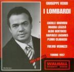 VERDI - Vernizzi - I Lombardi alla prima crociata (Les Lombards à la pre live Torino 14 - 6 - 57