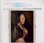 MOZART - Klemperer - Symphonie n°25 en sol mineur K.183 (K6.173dB) remastered by Yoshio Okazaki, import Japon