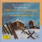 CHOSTAKOVITCH - Bernstein - Symphonie n°1 op.10