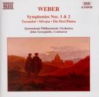 WEBER - Georgiadis - Symphonie n°1 en do majeur