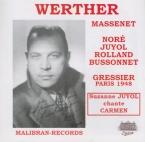 MASSENET - Gressier - Werther, drame lyrique