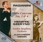 PAGANINI - Szeryng - Concerto pour violon n°1 en ré majeur op.6 M.S.21