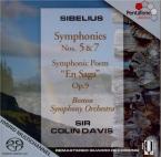 SIBELIUS - Davis - Symphonie n°5 op.82