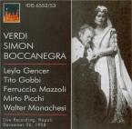 VERDI - Rossi - Simon Boccanegra, opéra en trois actes live Napoli 26 - 12 - 58