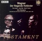 WAGNER - Klemperer - Der fliegende Holländer (Le vaisseau fantôme) WWV.6 live London 19 - 03 - 1968