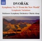 DVORAK - Alsop - Variations symphoniques pour orchestre op.78 B.70