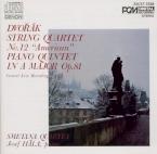 DVORAK - Smetana Quartet - Quatuor à cordes n°12 en fa majeur op.96 B.17 import Japon