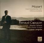 MOZART - Capuçon - Concerto pour violon et orchestre n°1 en si bémol maj