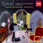 RAVEL - Rattle - L'enfant et les sortilèges, fantaisie lyrique