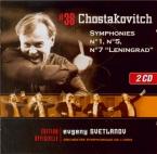 CHOSTAKOVITCH - Svetlanov - Symphonie n°1 op.10
