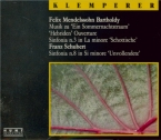 MENDELSSOHN-BARTHOLDY - Klemperer - Ein Sommernachtstraum (Le songe d'un live München 23 - 5 - 1969 & 1 - 4 - 1966