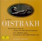 CHOPIN - Oistrakh - Trio pour violon, violoncelle et piano en sol mineur