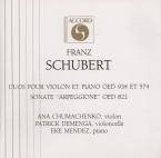 SCHUBERT - Chumachenco - Fantaisie pour piano et violon en do majeur op