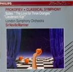 PROKOFIEV - Marriner - L'amour des trois oranges, suite symphonique pour