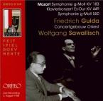 MOZART - Sawallisch - Symphonie n°25 en sol mineur K.183 (K6.173dB) Live Salzburg 2 - 8 - 1958