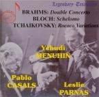 BRAHMS - Parnas - Double concerto pour violon et violoncelle avec orches