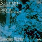 SCHUMANN - Richter - Bunte Blätter (Feuilles colorées), quatorze pièces import Japon