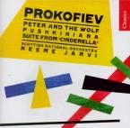 PROKOFIEV - Järvi - Pierre et le loup, conte symphonique pour enfants, p