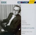 Klavierabend - Piano recital 1959