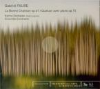 FAURE - Deshayes - La bonne chanson (Verlaine), cycle de mélodies pour v
