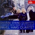DVORAK - Pavel Haas Quar - Quatuor à cordes n°13 en sol majeur op.106 B