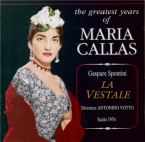 SPONTINI - Votto - La vestale (Live Scala dio Milano, 7 - 12 - 1954) Live Scala dio Milano, 7 - 12 - 1954