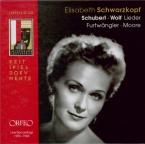 Schubert - Wolf Lieder