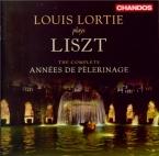 LISZT - Lortie - Années de pèlerinage I (première année : Suisse), pour