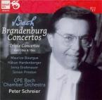 BACH - Schreier - Concerto brandebourgeois n°1 pour orchestre en fa maje