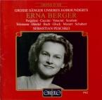 MOZART - Berger - Ridente la calma, canzonetta pour voix et piano K.152 live Hannover 6 - 1 - 1962