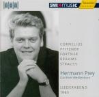 Liederabend 1963