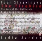 STRAVINSKY - Jardon - L'oiseau de feu, conte dansé en 2 tableaux, pour o Piano solo versions