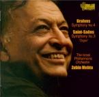 BRAHMS - Mehta - Symphonie n°4 pour orchestre en mi mineur op.98
