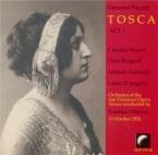 PUCCINI - Merola - Tosca : extraits (15 - 10 - 1932) 15 - 10 - 1932