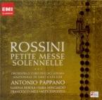 ROSSINI - Pappano - Petite messe solennelle