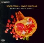 MENDELSSOHN-BARTHOLDY - Brautigam - Romances sans paroles, pour piano, L