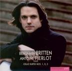 BRITTEN - Pierlot - Suite pour violoncelle seul n°1 op.72
