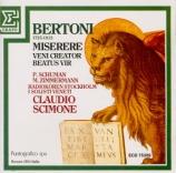 BERTONI - Scimone - Veni creator